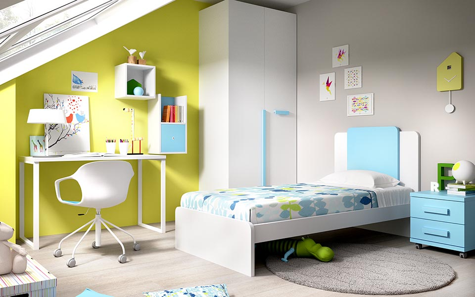 Παιδικό Δωμάτιο Green
