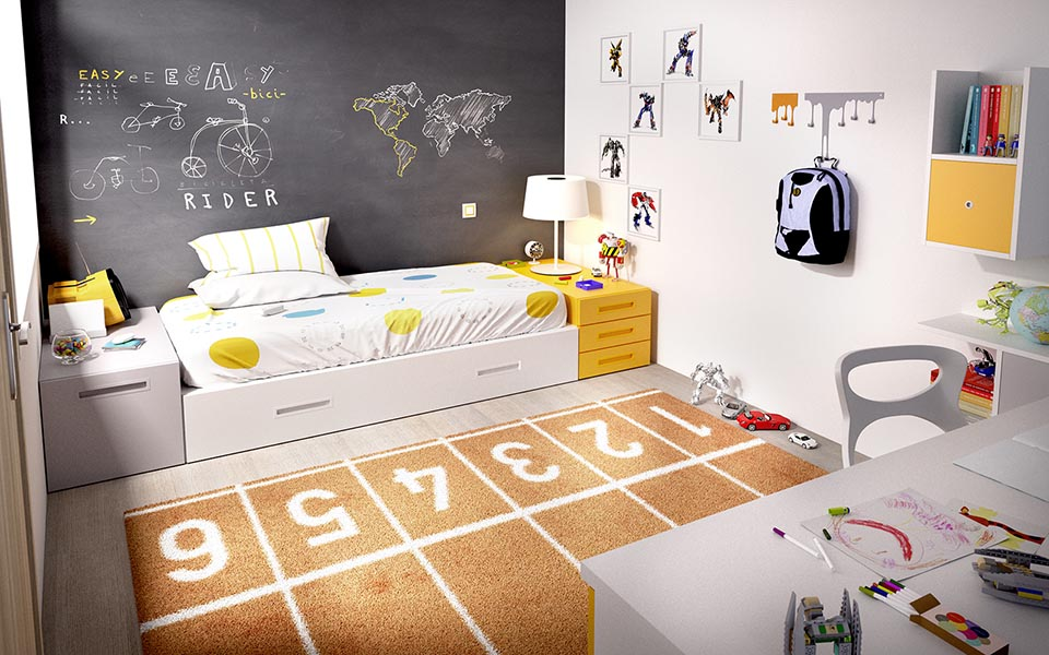 Παιδικό Δωμάτιο Nest