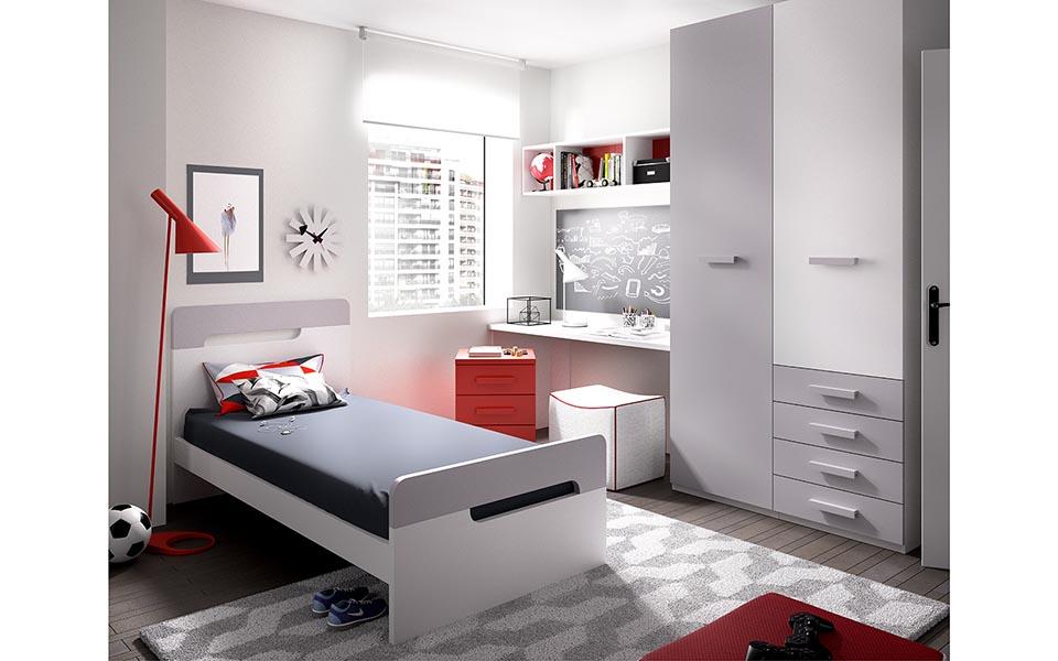 Παιδικό Δωμάτιο Red